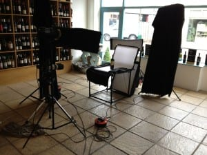 Photo Shoot @ The Wine Shop