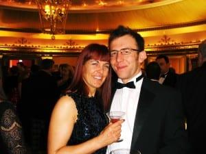 Matthew and Kelli Awards eve