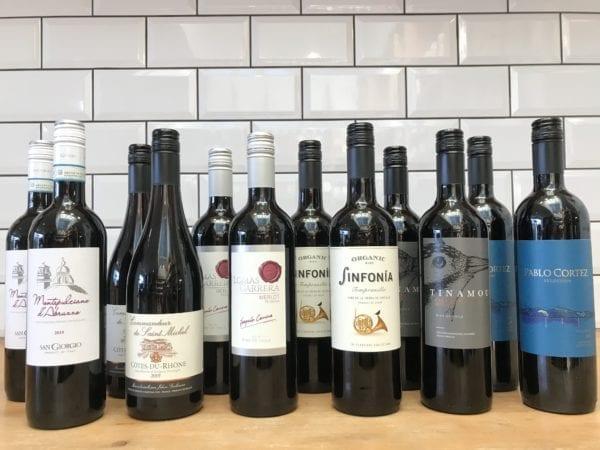Wine Rack Filler Red Case (12 Bottle)