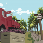 red-lorry