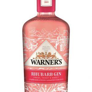 Warner Edwards Gin - Rhubarb Gin, 40% Vol - 70cl Bottle