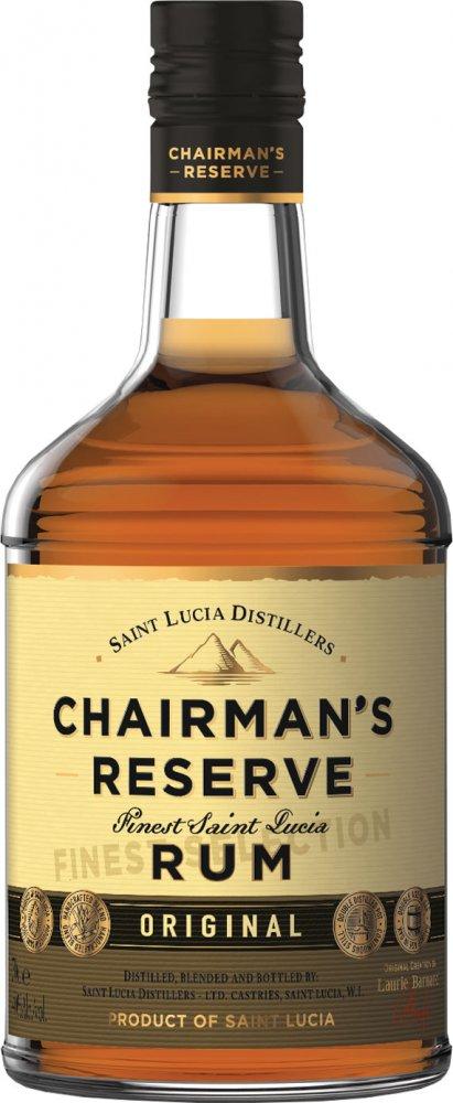 Chairman's Reserve Finest St Lucia Rum 40% - 70cl