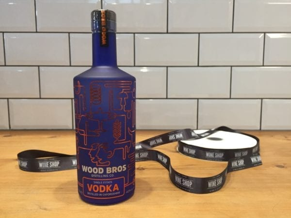 Wood Bros Single Estate Vodka