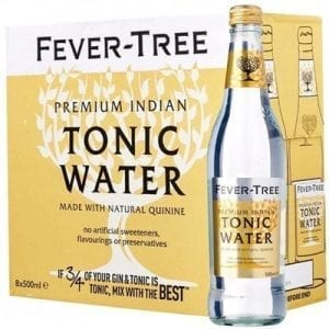 Fever Tree Premium Indian Tonic Water 8 x 500ml