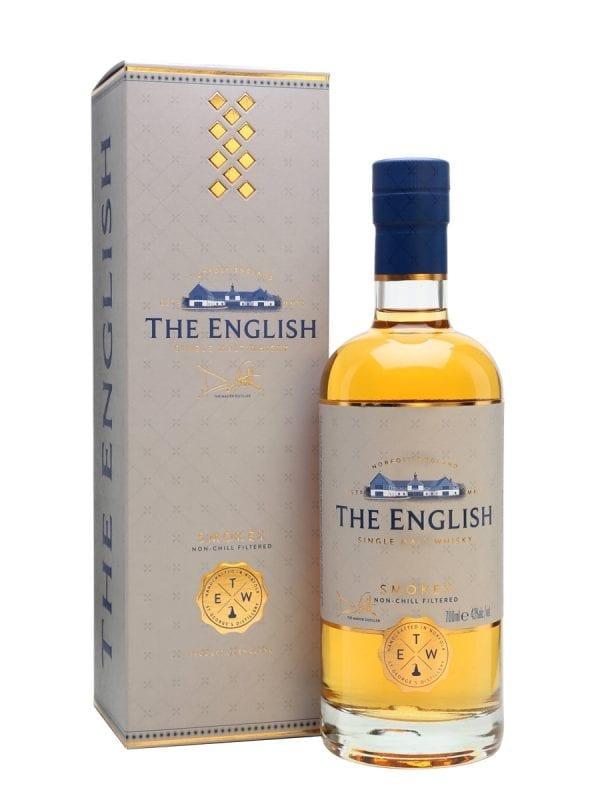 The English Smokey Single Malt Whisky 43% Vol - 70cl