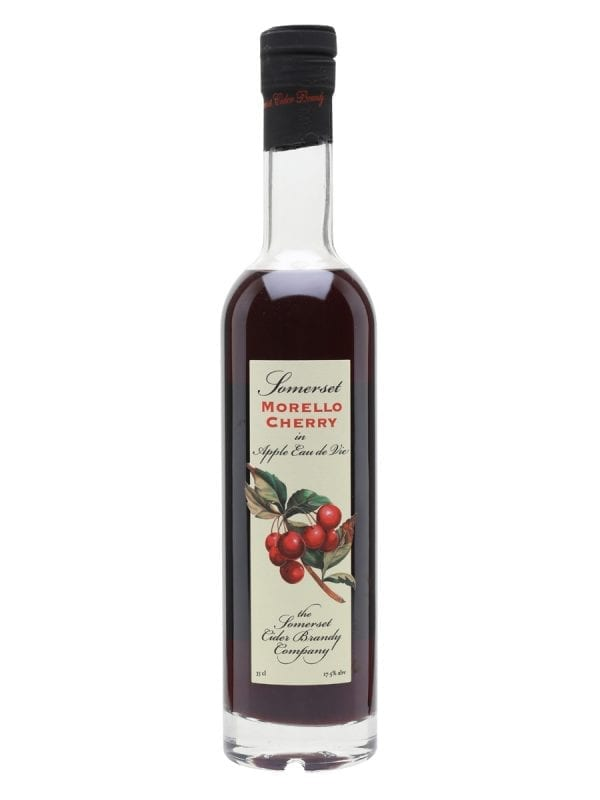 Somerset Morello Cherry in Apple Eau de Vie 17.5 Vol - 35cl