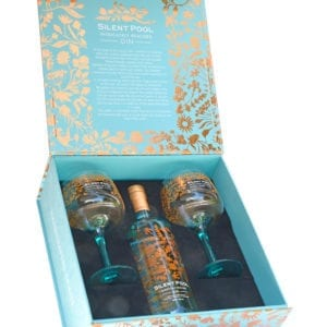 Silent Pool Gin and Glasses Gift Set