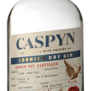 Caspyn Cornish Dry Gin 40% ABV, 70cl