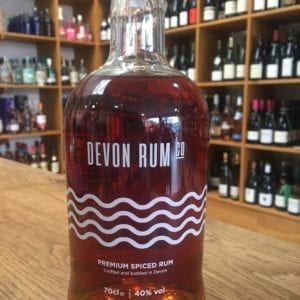 Devon Rum Premium Spiced Rum 40% ABV, 70cl