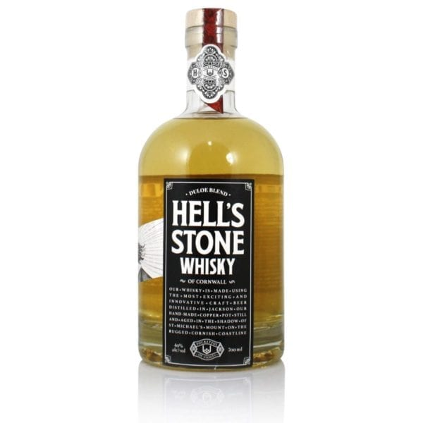 Hells Stone Cornish Whisky 40% ABV, 70cl